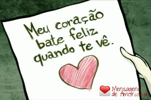 O Bom de Viver é Sentir O Coração Bater Feliz.....